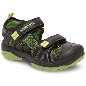 Merrell Kids Hydro Rapid Black/Green Shoes